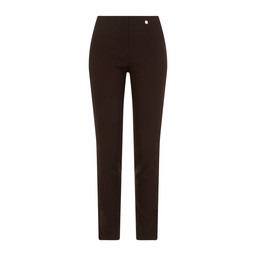 Robell Trousers Rose Full Length Trousers in Black