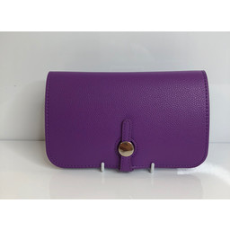 Lucy Cobb Travel Wallet with Purse in Purple