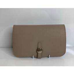 Lucy Cobb Travel Wallet with Purse in Stone