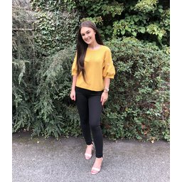 Lucy Cobb Imogen Jumper - Mustard