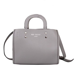 Red Cuckoo Large Tote - Elephant Grey