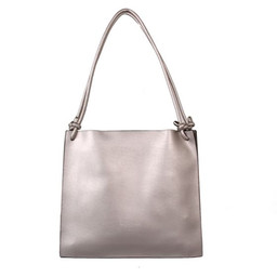 Red Cuckoo Knot Detailed Shopper - Silver