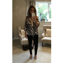 Zoey Animal Print Top - Animal Print