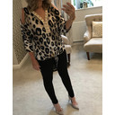 Zoey Animal Print Top - Animal Print - Alternative 1
