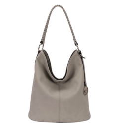 David Jones Slouch Bag  - Light Grey