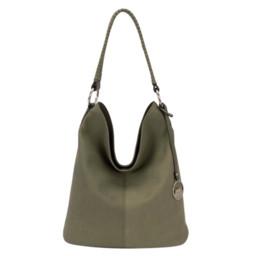 David Jones Slouch Bag  - Khaki