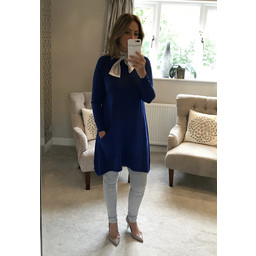 Lucy Cobb Anna Two Pocket Tunic - Royal