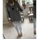 Sophie Star Jumper - Grey - Alternative 1