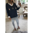 Sophie Star Jumper - Blue - Alternative 1