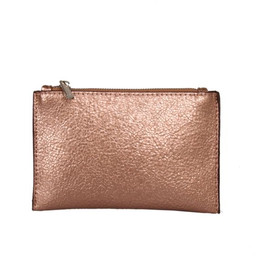 Red Cuckoo Zip Pouch - Champagne