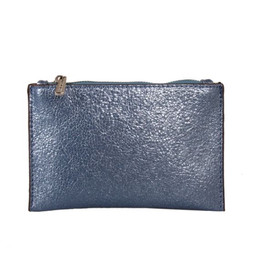 Red Cuckoo Zip Pouch - Blue