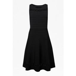 French Connection Kai Crepe Knit Dress - Black