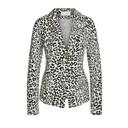 Leopard Print Blazer - Leopard Print