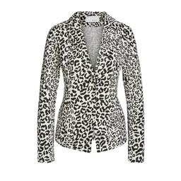 Oui Leopard Print Blazer - Leopard Print