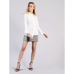 Glamorous Belted Shirt  - Off-White