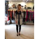 Caroline Knitted Jacket  - Black Multi