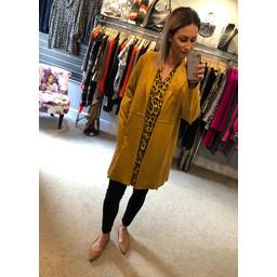 Lucy Cobb Sandra Suede Jacket - Mustard