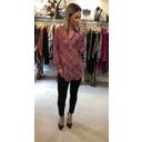 Oversized shirt - Pink Multi
