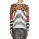 Animal Print Star Pullover - Animal Print - Alternative 2