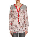 Contrast Printed Tunic - Pink Multi - Alternative 1
