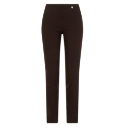 Robell Trousers Rose Fleece Trousers - Black