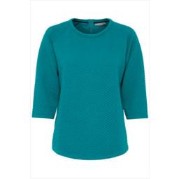 Fransa Rebang 2 Blouse - Turquoise