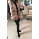 Adelaide Faux Fur Gilet - Baby Pink - Alternative 1