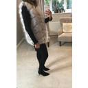 Adelaide Faux Fur Gilet - Light Grey - Alternative 1