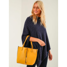Lucy Cobb Reversible Tote - Mustard