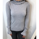 Francesca Frill Jumper - Grey - Alternative 1