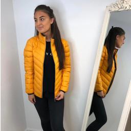 Fransa Padown 2 Outerwear Jacket - Mustard