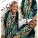 Tilly Fur Coat - Green