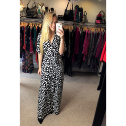Glamorous Kimmono Maxi Dress - Black & White