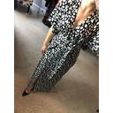 Kimmono Maxi Dress - Black & White - Alternative 2