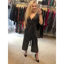 Alexa Sparkle Jumpsuit - Black