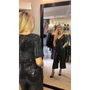 Alexa Sparkle Jumpsuit - Black - Alternative 1