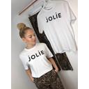 Jolie Glitter Tee - White - Alternative 1