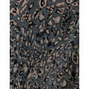 Colette Metallic Animal Print Trousers - Silver Black - Alternative 2