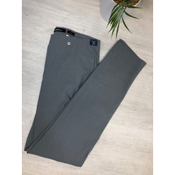 Robell Trousers Rose Full Length Trousers in Graphite