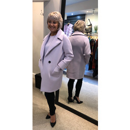 Deck Zoe Coat in Lilac