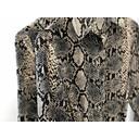 Arianna Animal Print Shirt Dress - Snake Print - Alternative 1