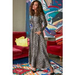 Onjenu Joni Long Sleeve Dress - Kenya