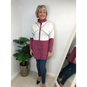 Keira Knitted Jacket - Berry