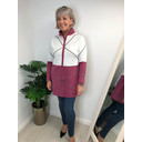 Keira Knitted Jacket - Berry - Alternative 1