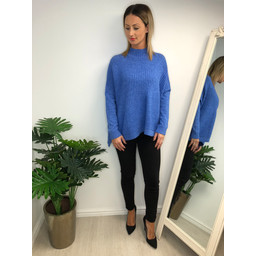 Lucy Cobb Janet Jumper - Cornflower Blue