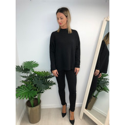 Lucy Cobb Janet Jumper in Black