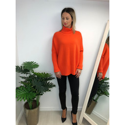 Lucy Cobb Janette Jumper - Orange