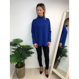 Lucy Cobb Janette Jumper - Royal