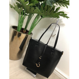 Lucy Cobb Reversible Tote - Black