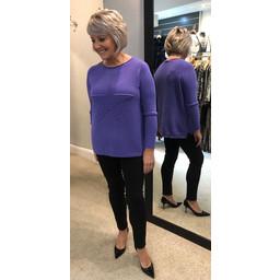 Lucy Cobb Star Jumper in Purple